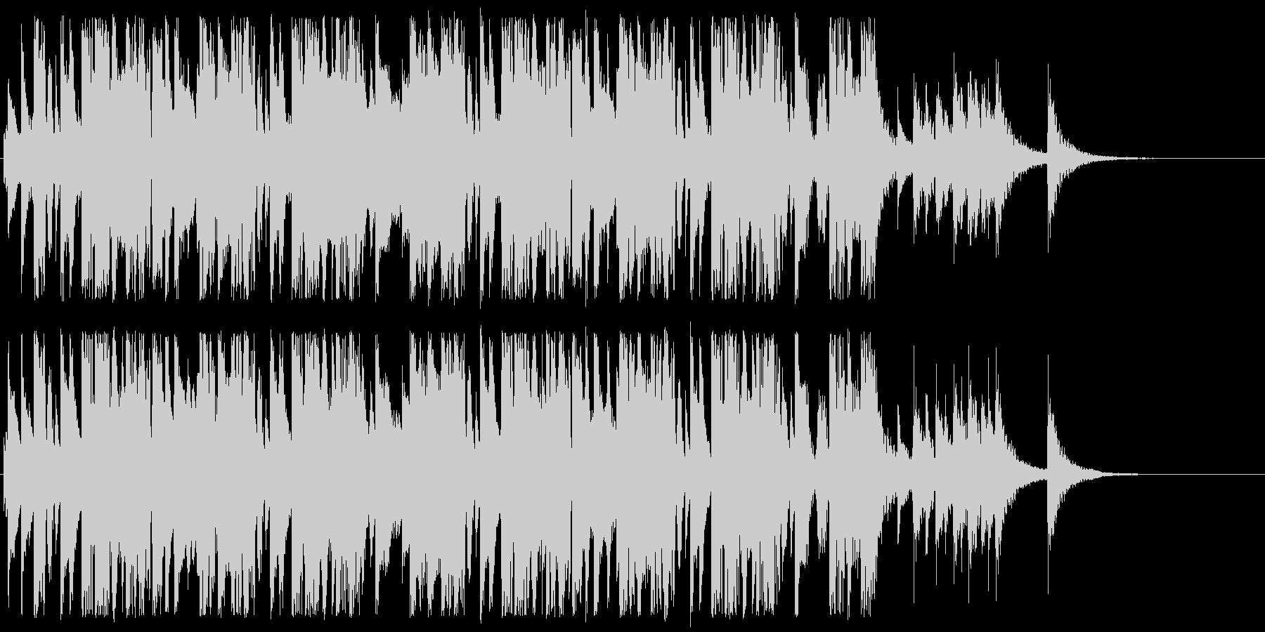 和風インスト2の未再生の波形