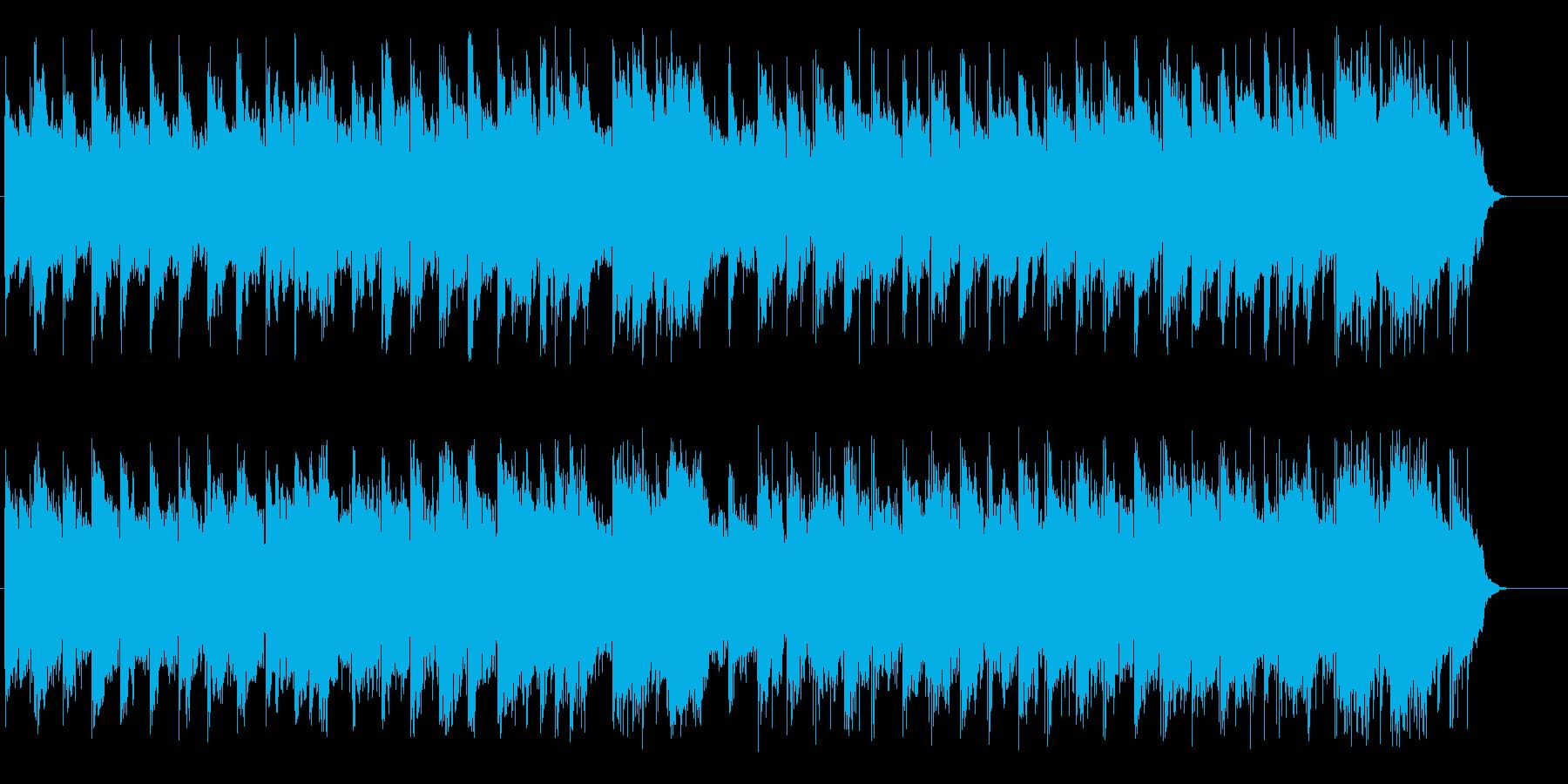 落着いた和風のマイナーポップスの再生済みの波形