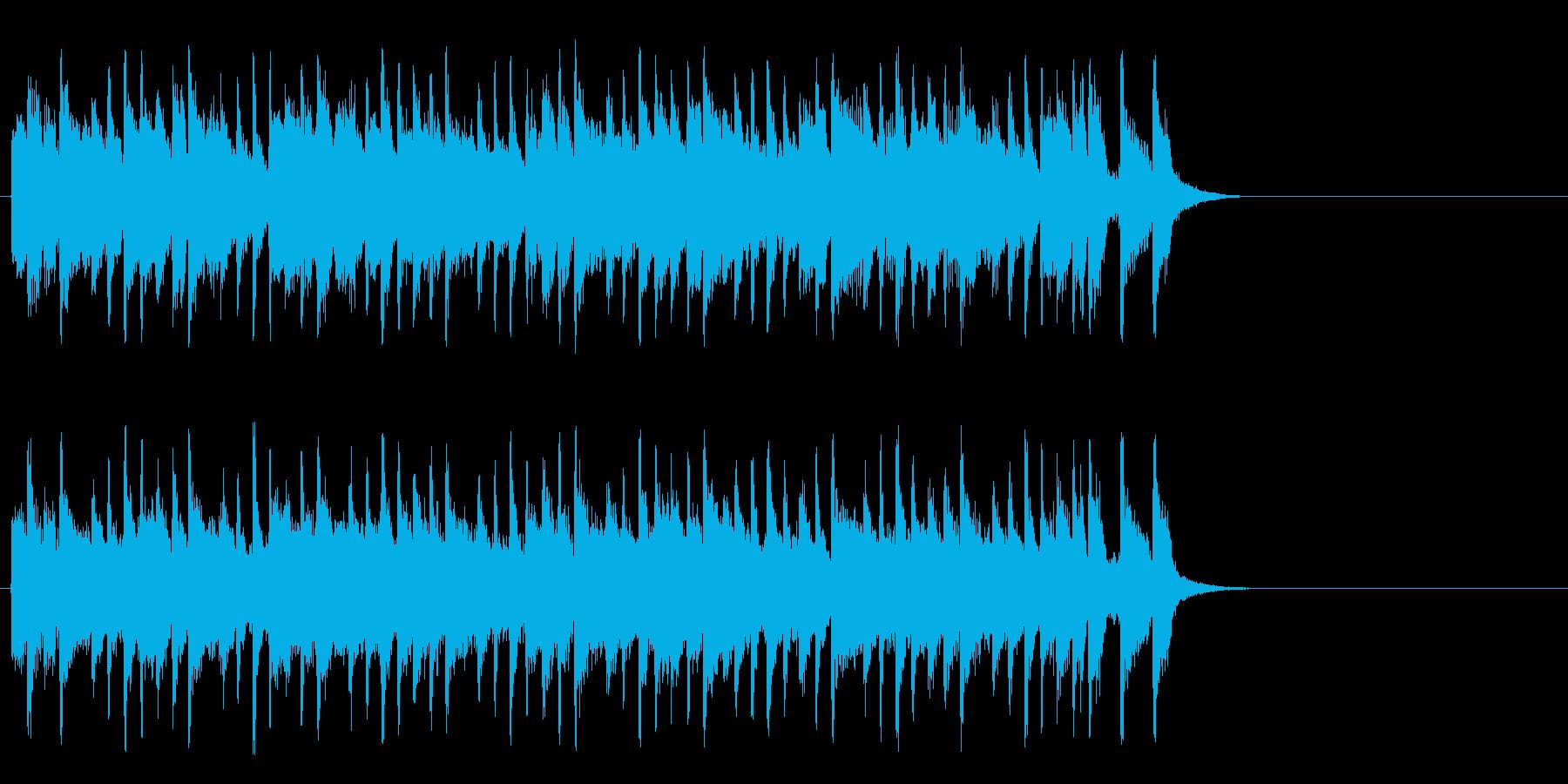 ほのぼのとしたポップ(サビ)の再生済みの波形