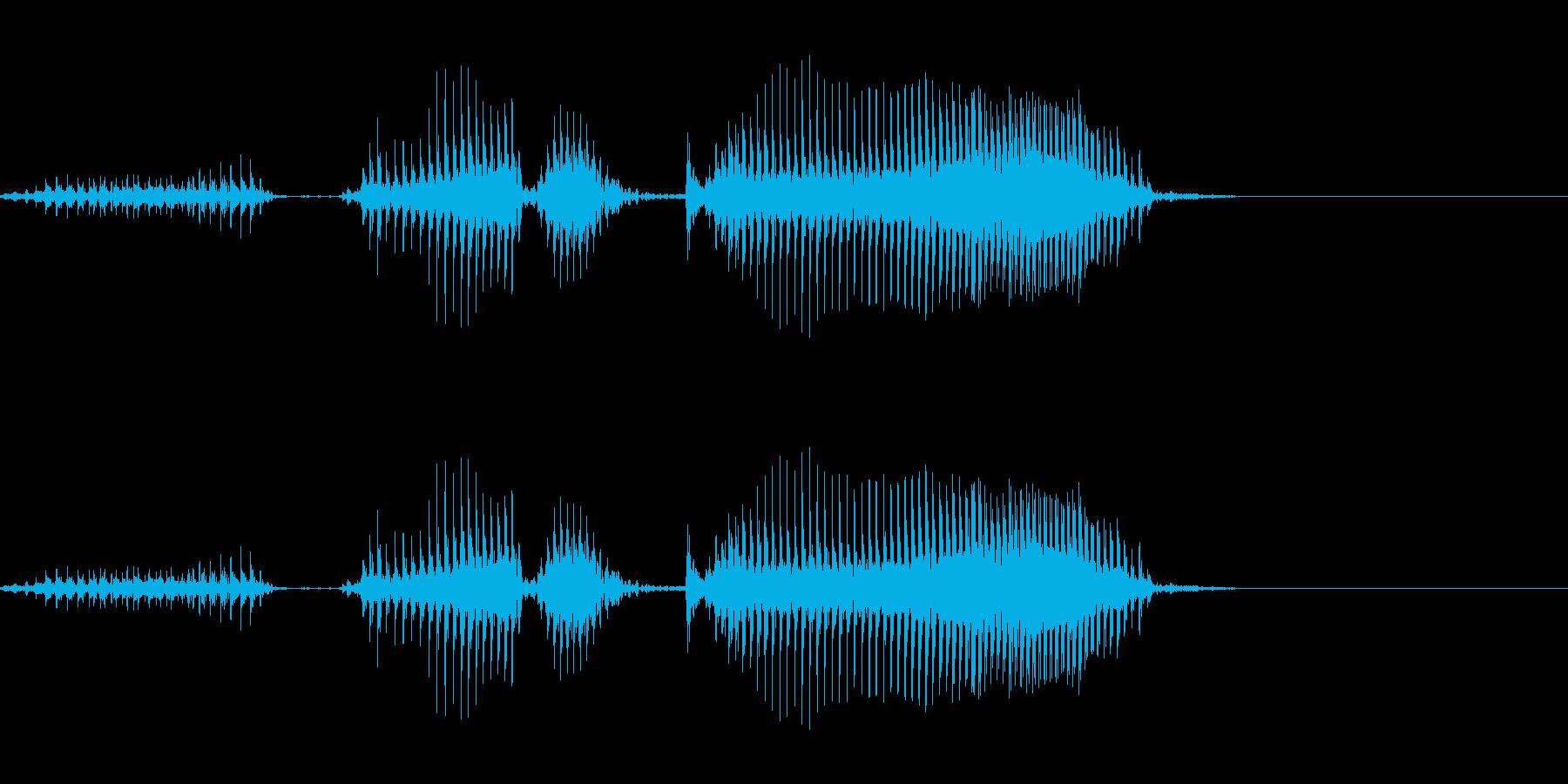 当たるかよ2の再生済みの波形