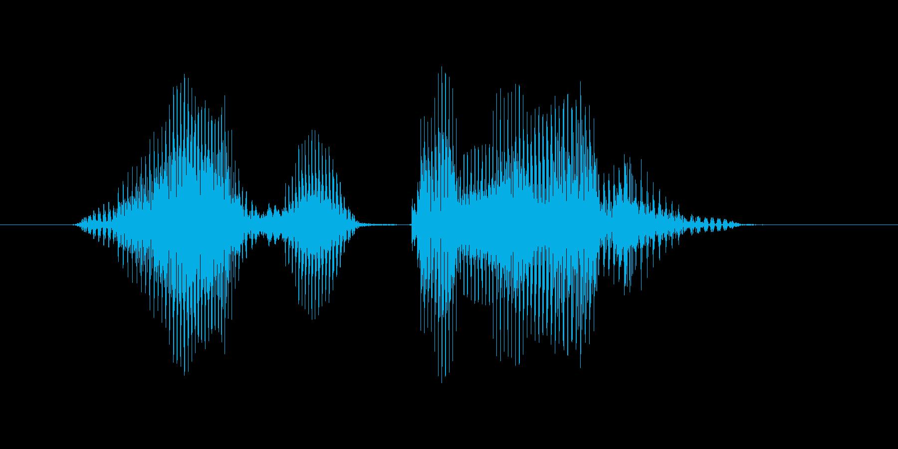 ノーヒット・ノーランの再生済みの波形