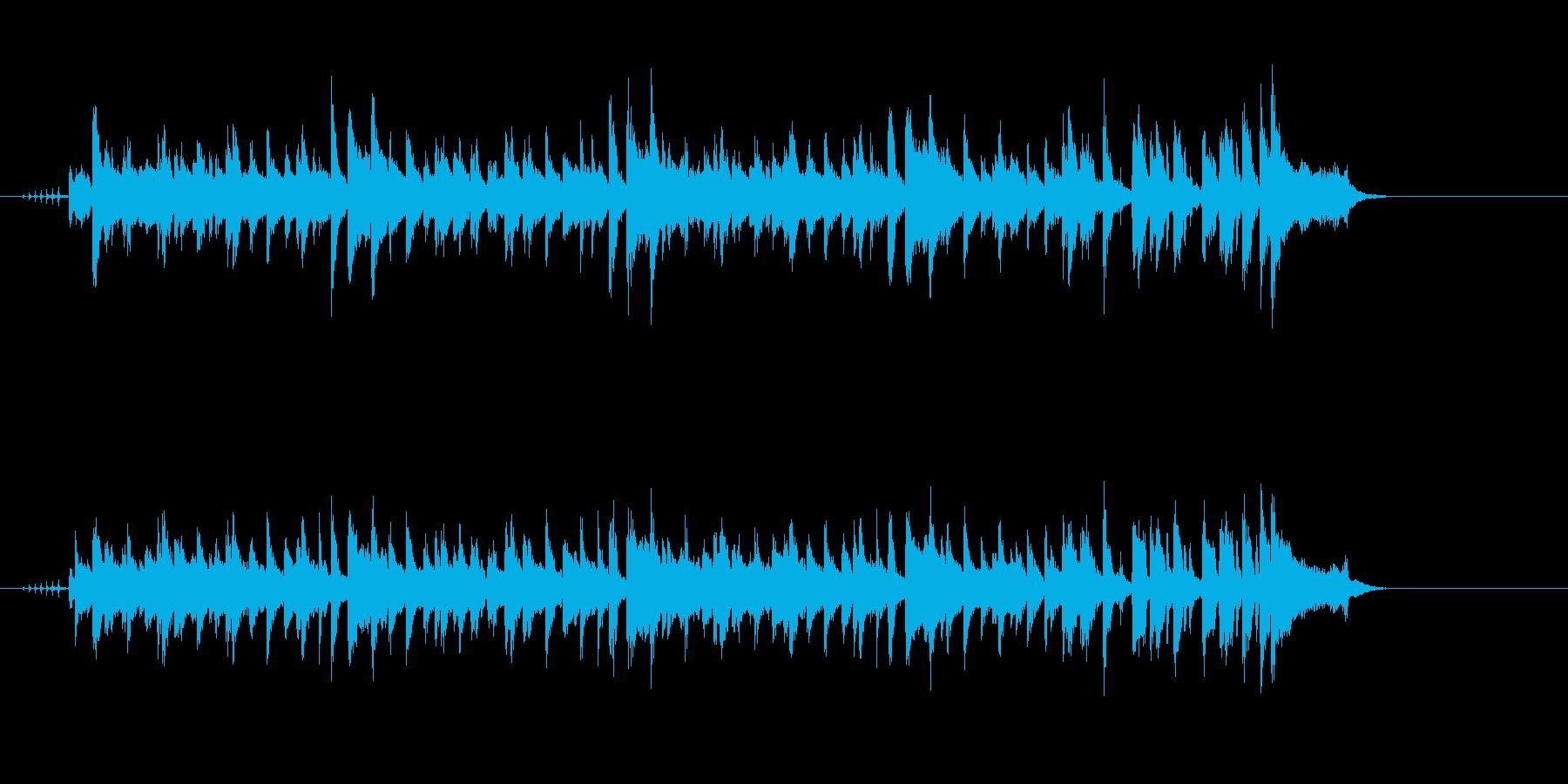 オーソドックスで洒落たロッキン・ブルースの再生済みの波形