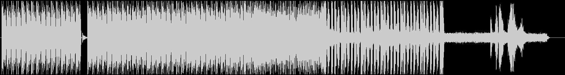暗いHIP-HOPからのJAZZFUNKの未再生の波形