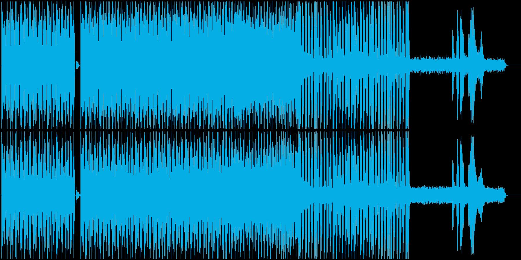 暗いHIP-HOPからのJAZZFUNKの再生済みの波形