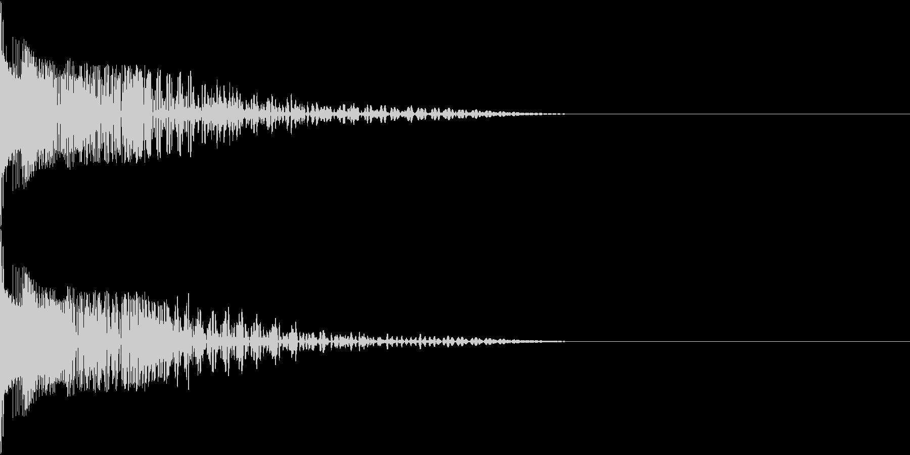 Henteko 可愛いクラッシュ音 7の未再生の波形