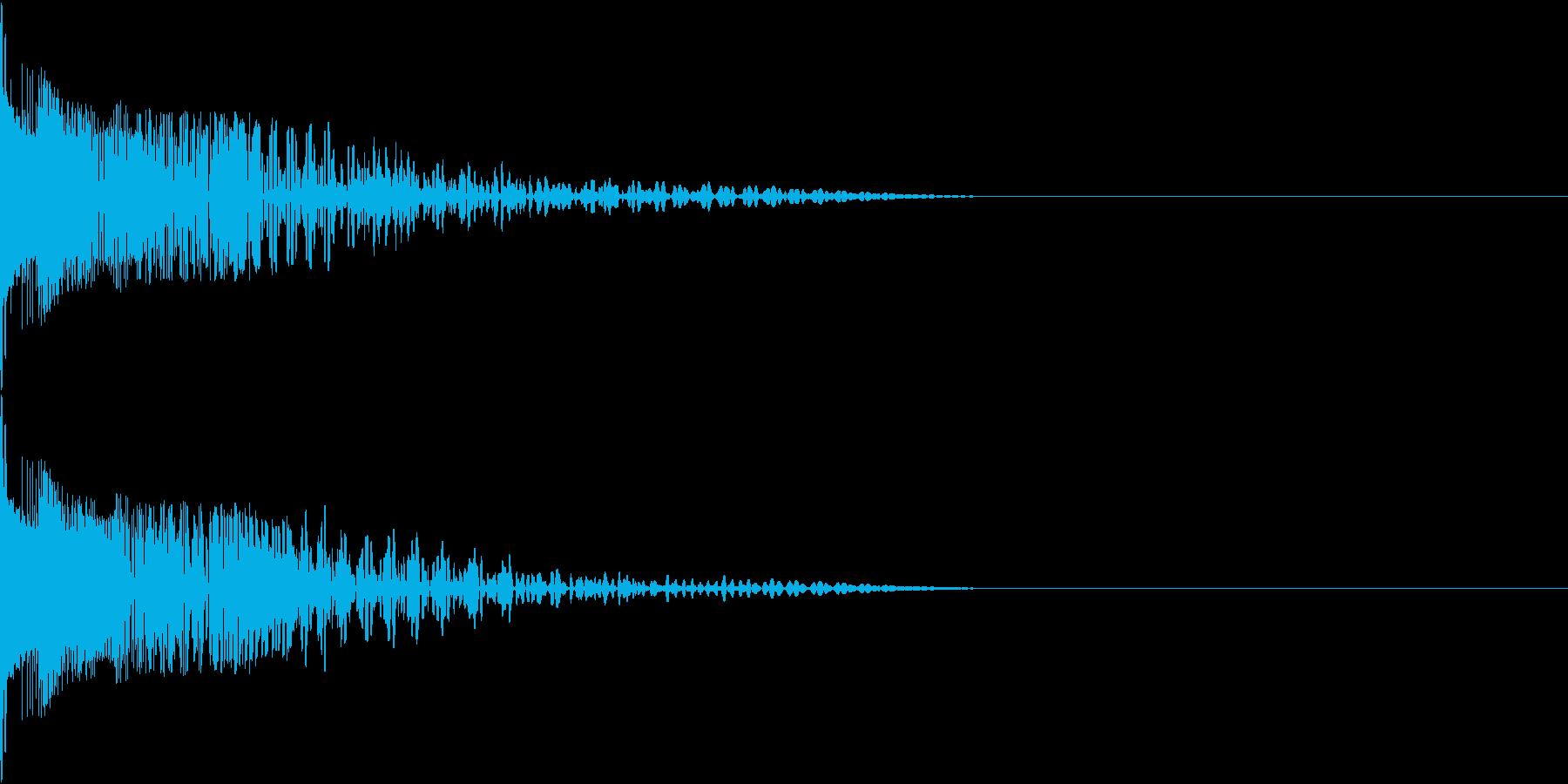 Henteko 可愛いクラッシュ音 7の再生済みの波形
