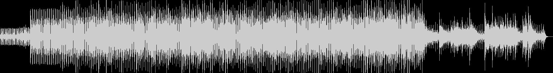 紹介VTR、CM、映像用 ボサノヴァ調の未再生の波形