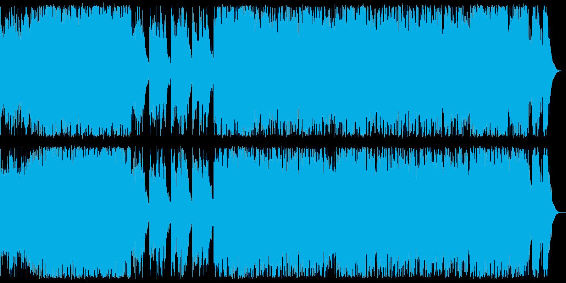 ハロウィン系 ポップで怪しい感じのBGMの再生済みの波形