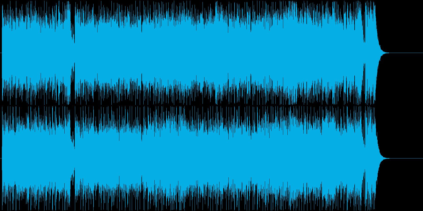 情報 CM 元気 軽快 オープニングの再生済みの波形