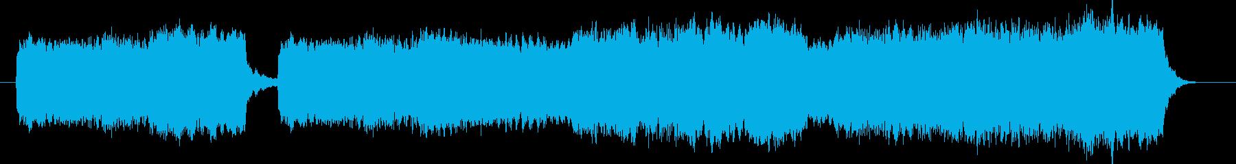 切ないストリングス&コーラス曲 ドラム無の再生済みの波形