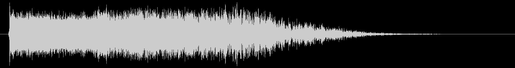 モンスターの鳴き声(ギャース2)の未再生の波形