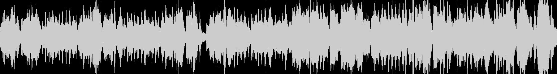 魔女のコミカルなオーケストラ・ループ版の未再生の波形