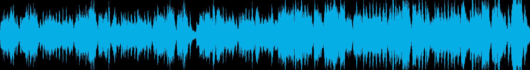 魔女のコミカルなオーケストラ・ループ版の再生済みの波形