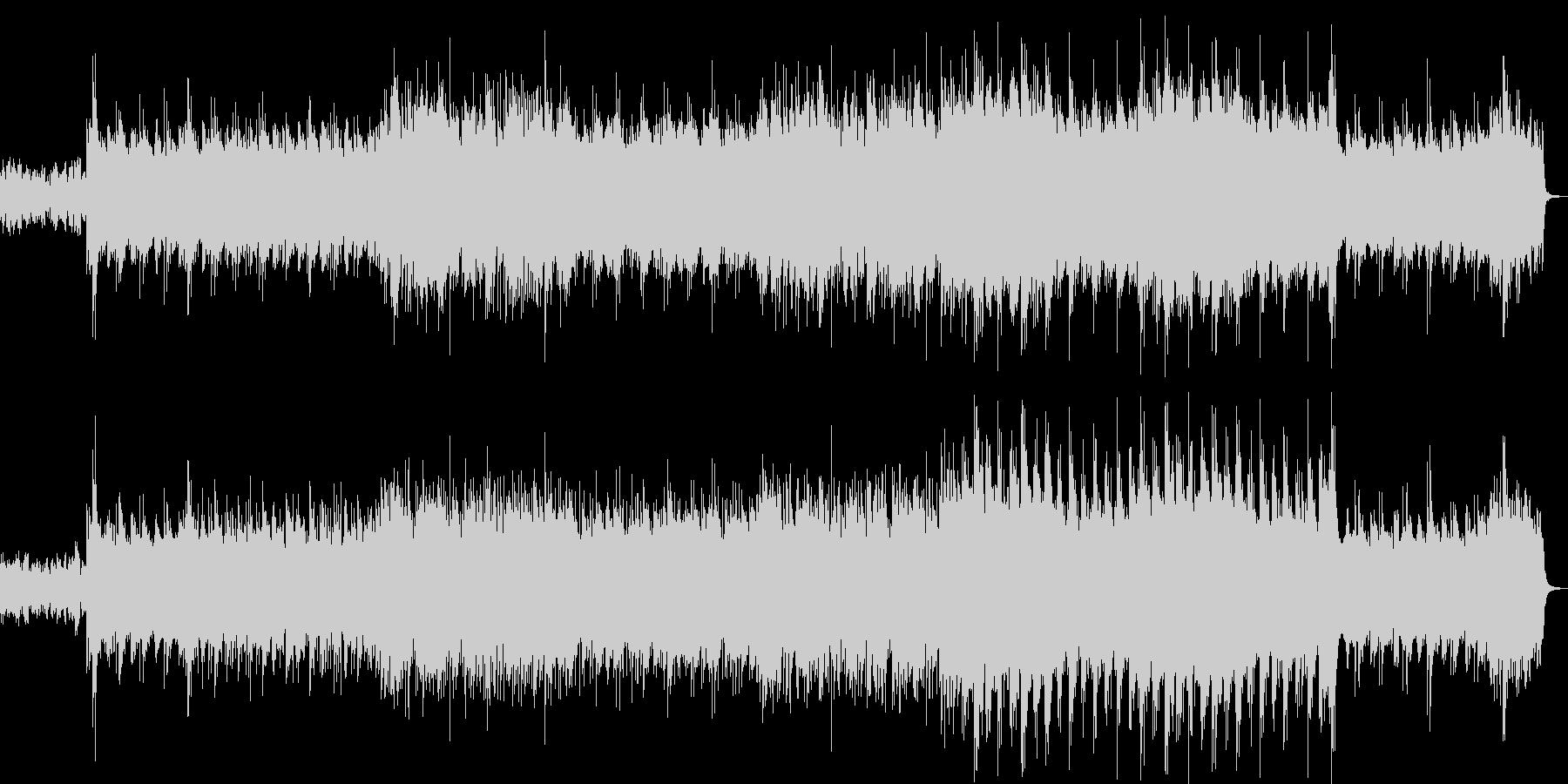 笛・箏・打楽器の和風リラクゼーション音楽の未再生の波形