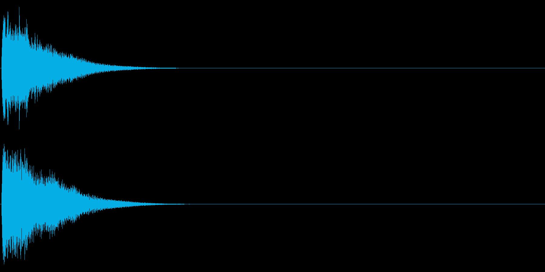 ゴング (ドワ―――ン)の再生済みの波形