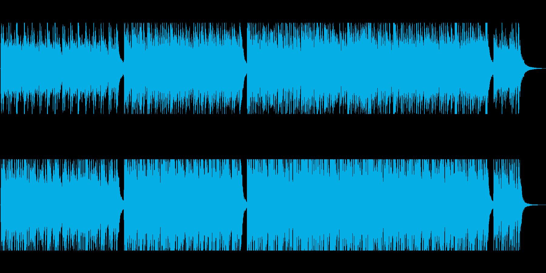 企業CM/PR動画/ピアノバイオリンの再生済みの波形