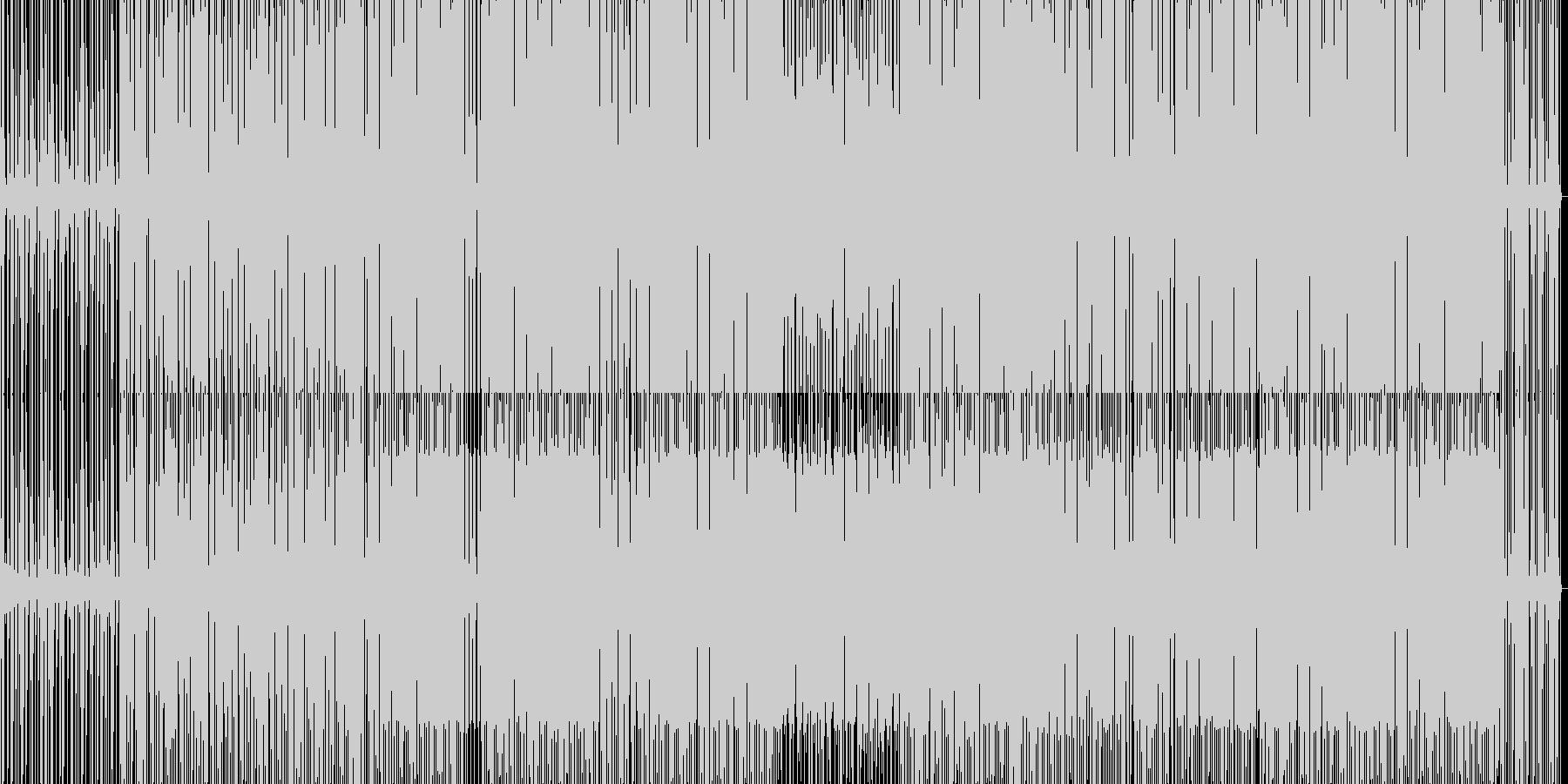 minimal house 26 の未再生の波形