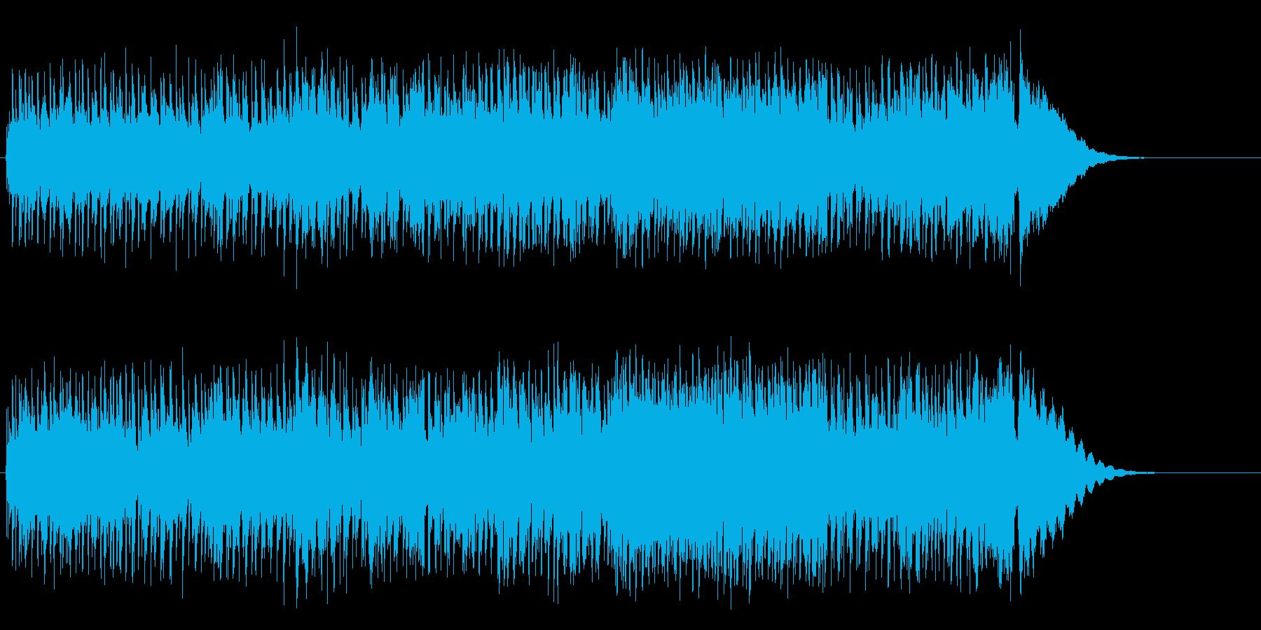 ウキウキのオールド・ロック・ロールの再生済みの波形