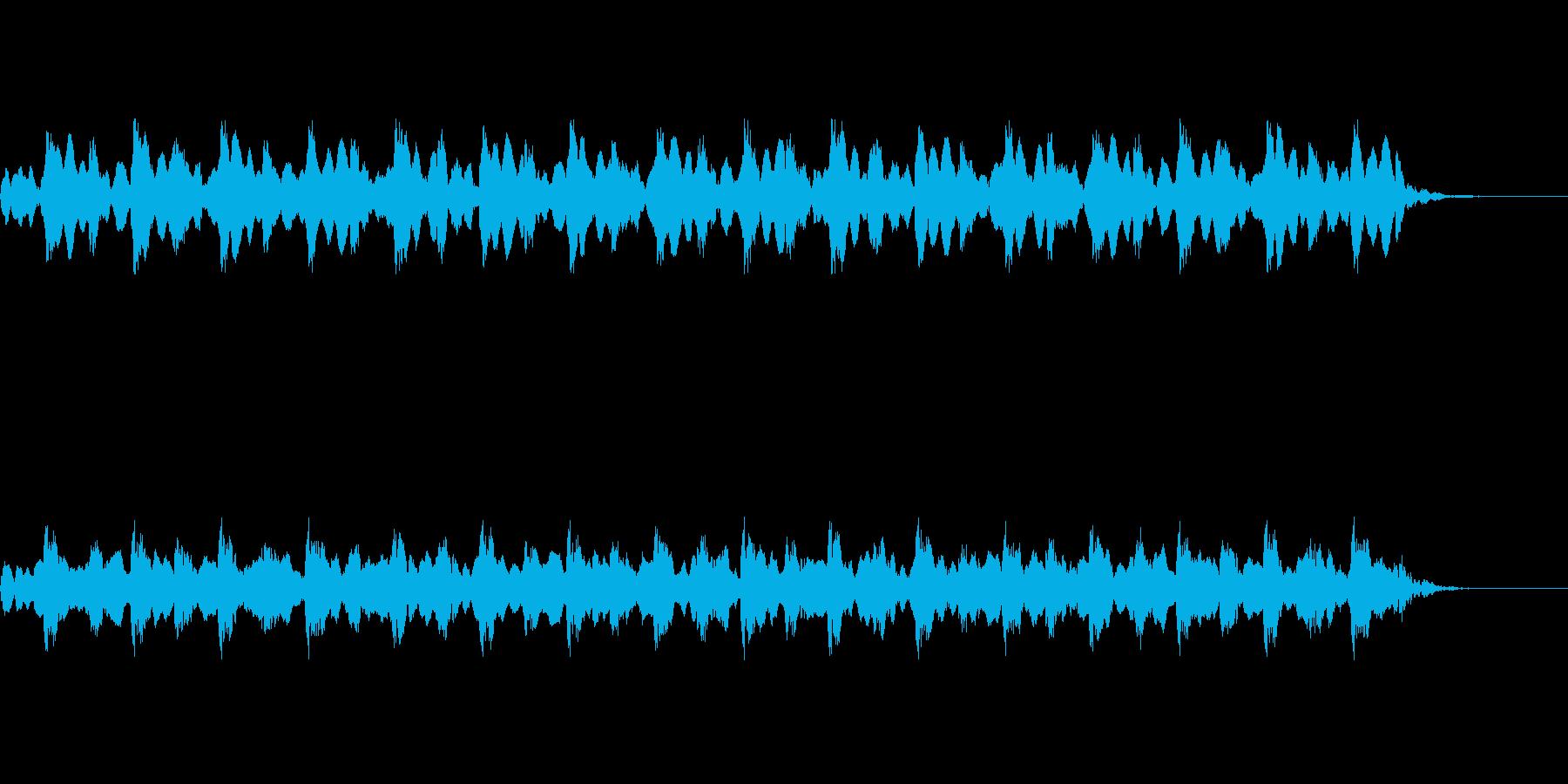 【救急車 サイレン01-2】の再生済みの波形