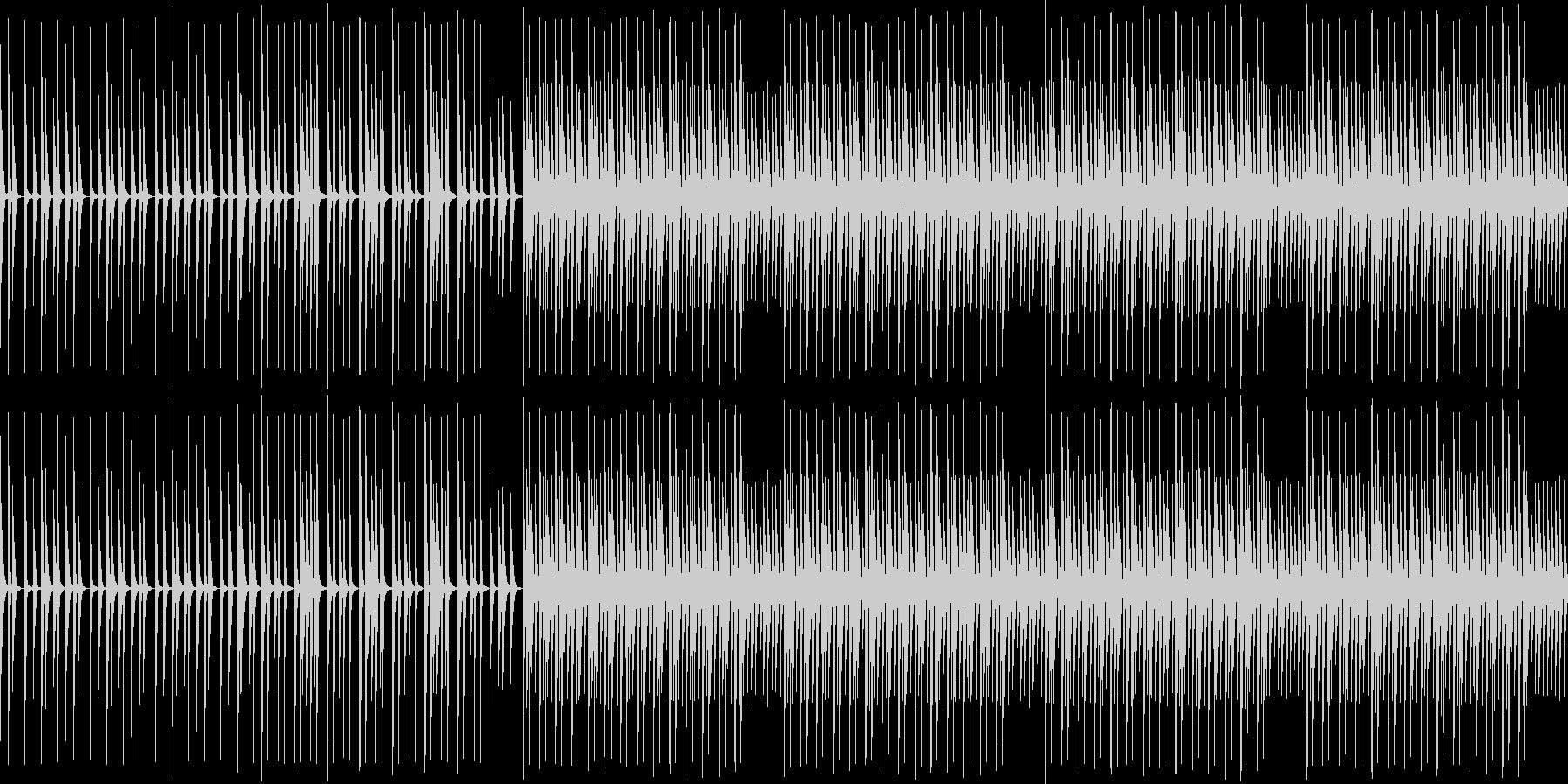 【ほのぼのかわいいエレクトロニカ】の未再生の波形