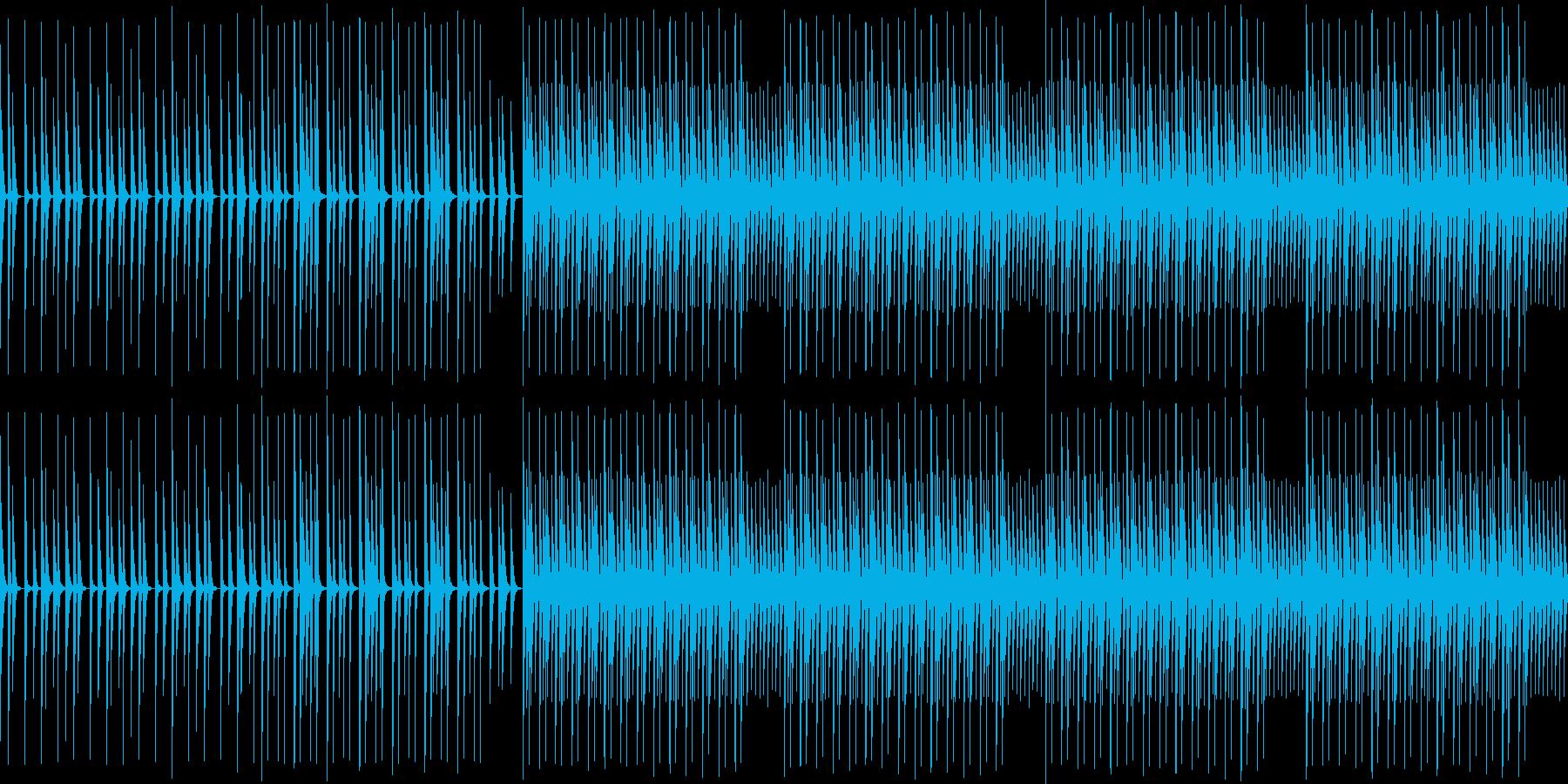 【ほのぼのかわいいエレクトロニカ】の再生済みの波形