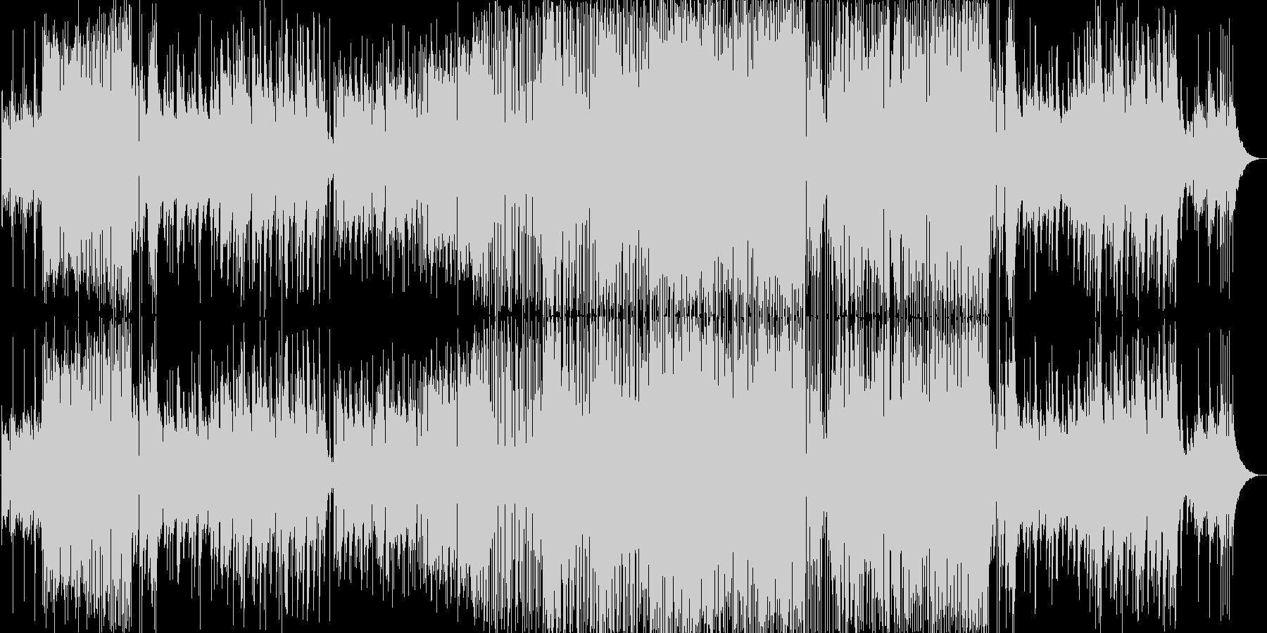 ピアノメインの幻想的で緊張感のある曲ですの未再生の波形