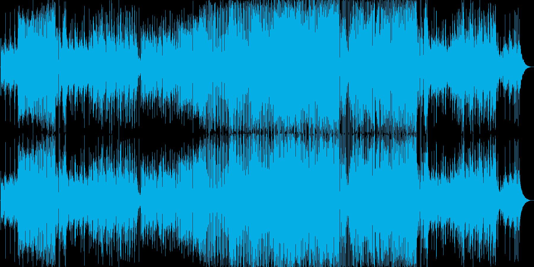 ピアノメインの幻想的で緊張感のある曲ですの再生済みの波形