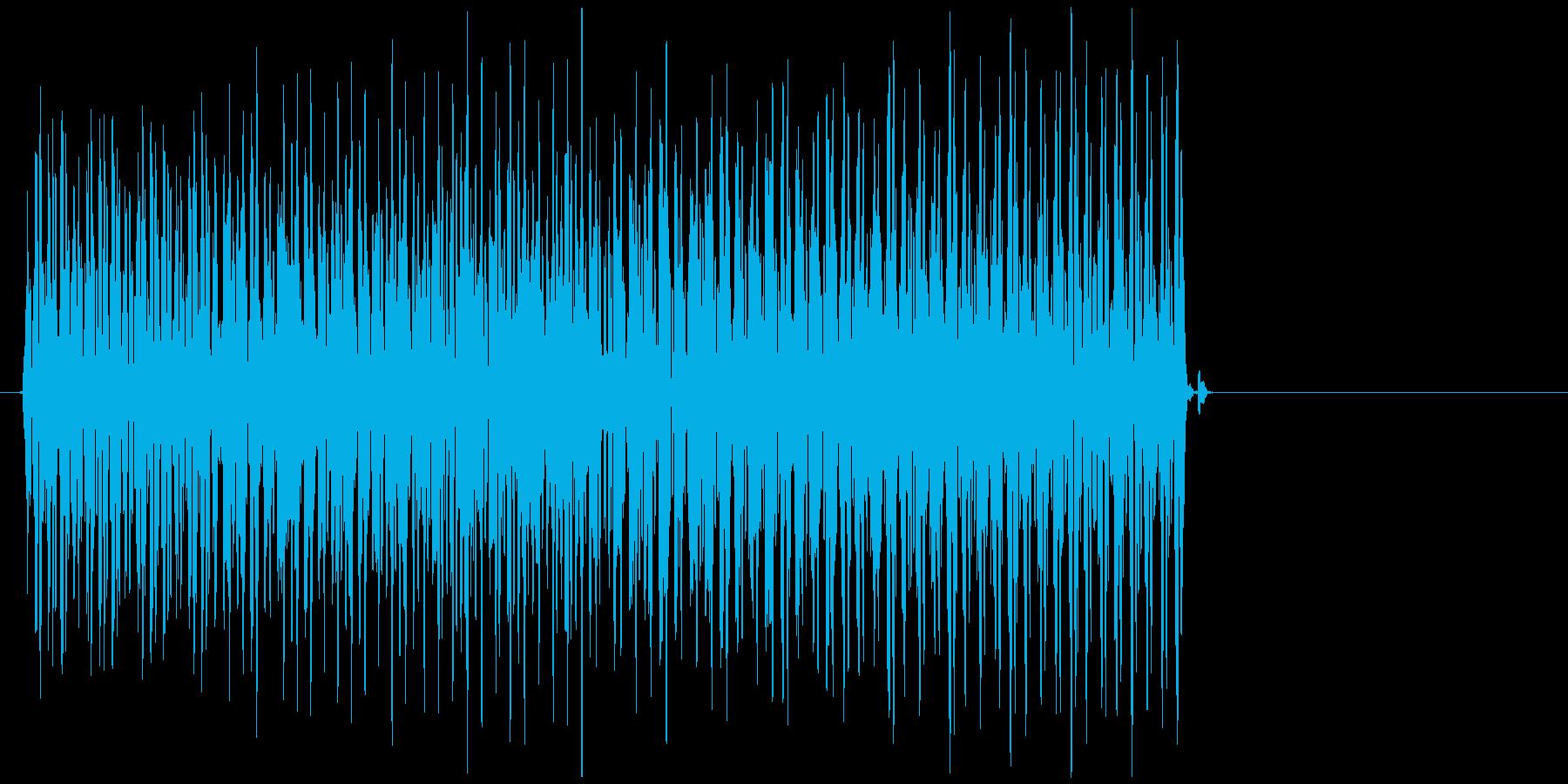 デレレレー↓(不正解、バツ、クイズ)の再生済みの波形