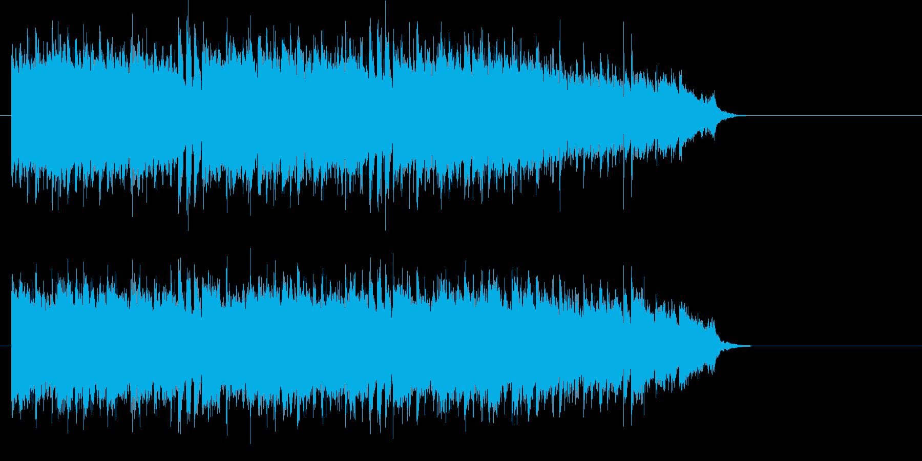 ドラマチック紀行 欧州風サウンドの再生済みの波形
