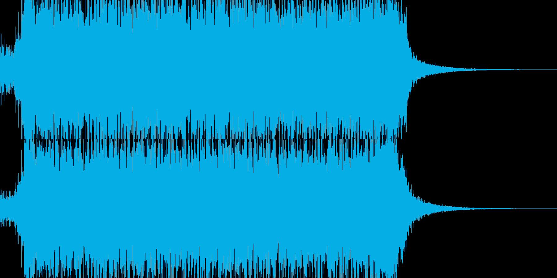 交響曲第9 コーラス トランス 01J1の再生済みの波形