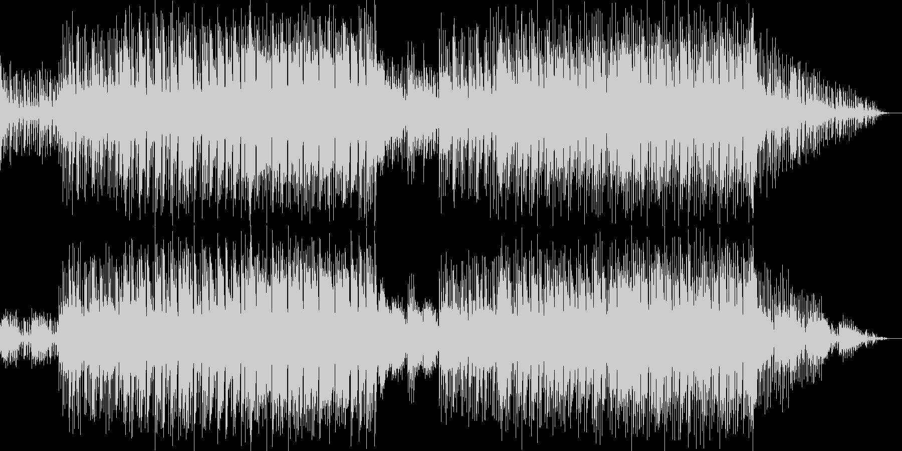 中近東っぽいリフと切ないメロディの曲の未再生の波形