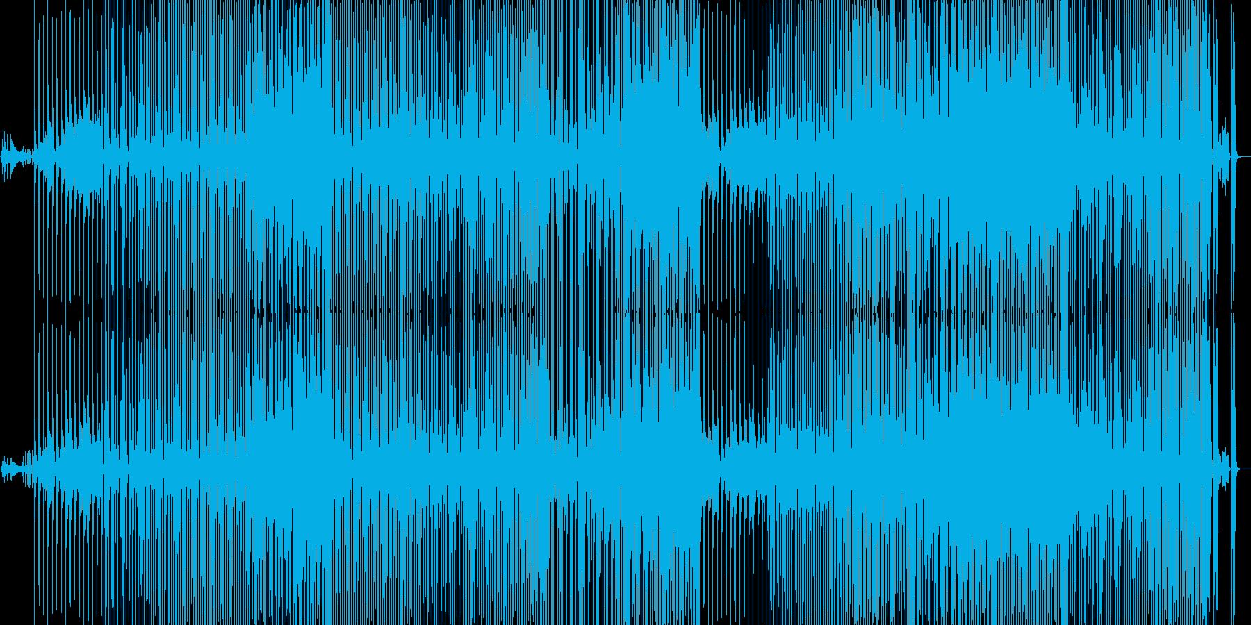 エンタメショー風ヒップホップインストの再生済みの波形