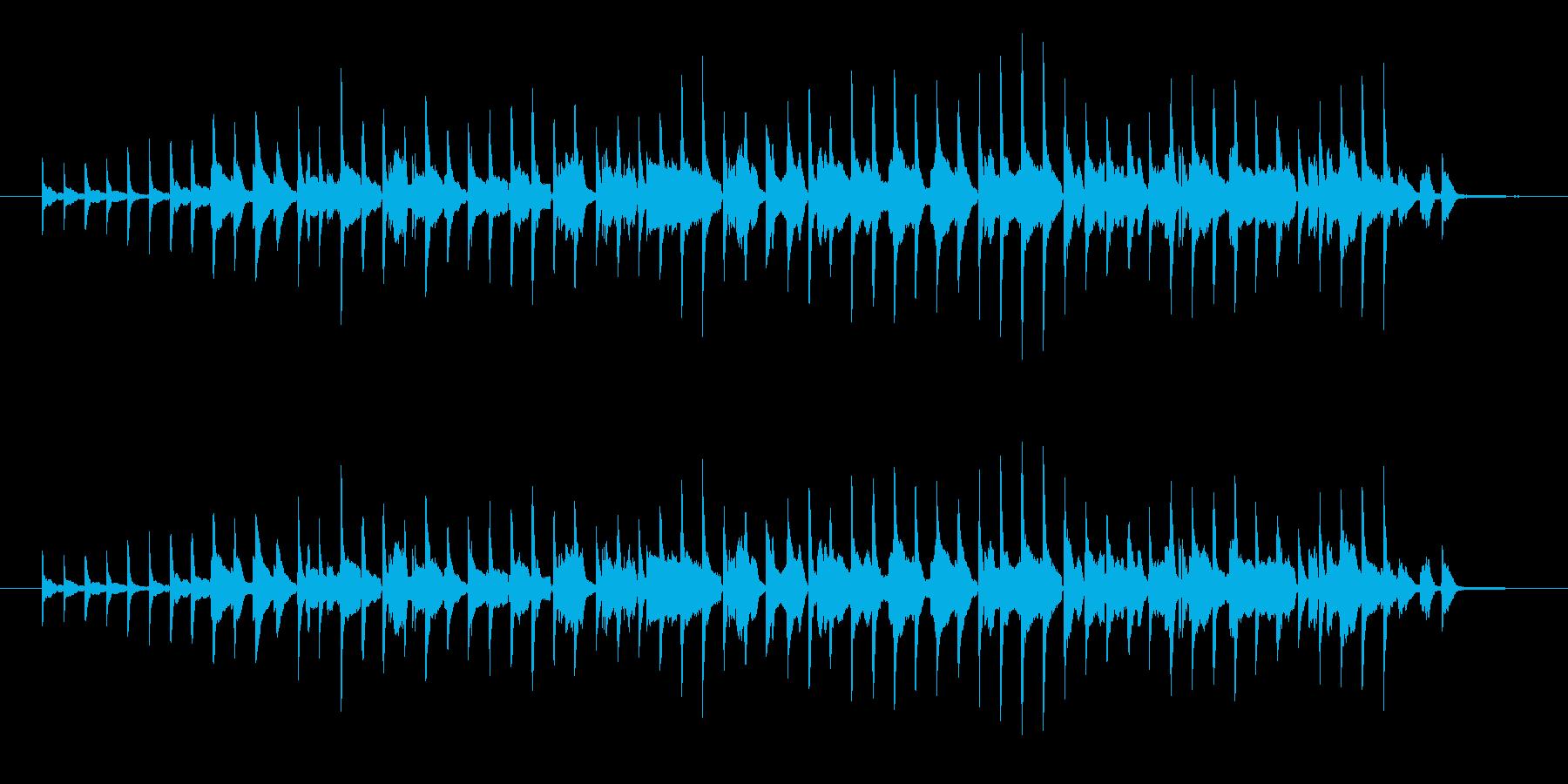 ピアノとサックスだけの曲です。景色プラ…の再生済みの波形