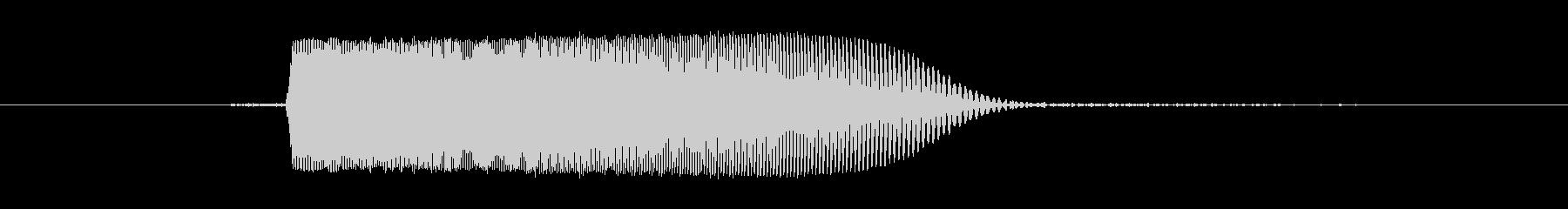 キュッ(キャンセル,電子音)の未再生の波形
