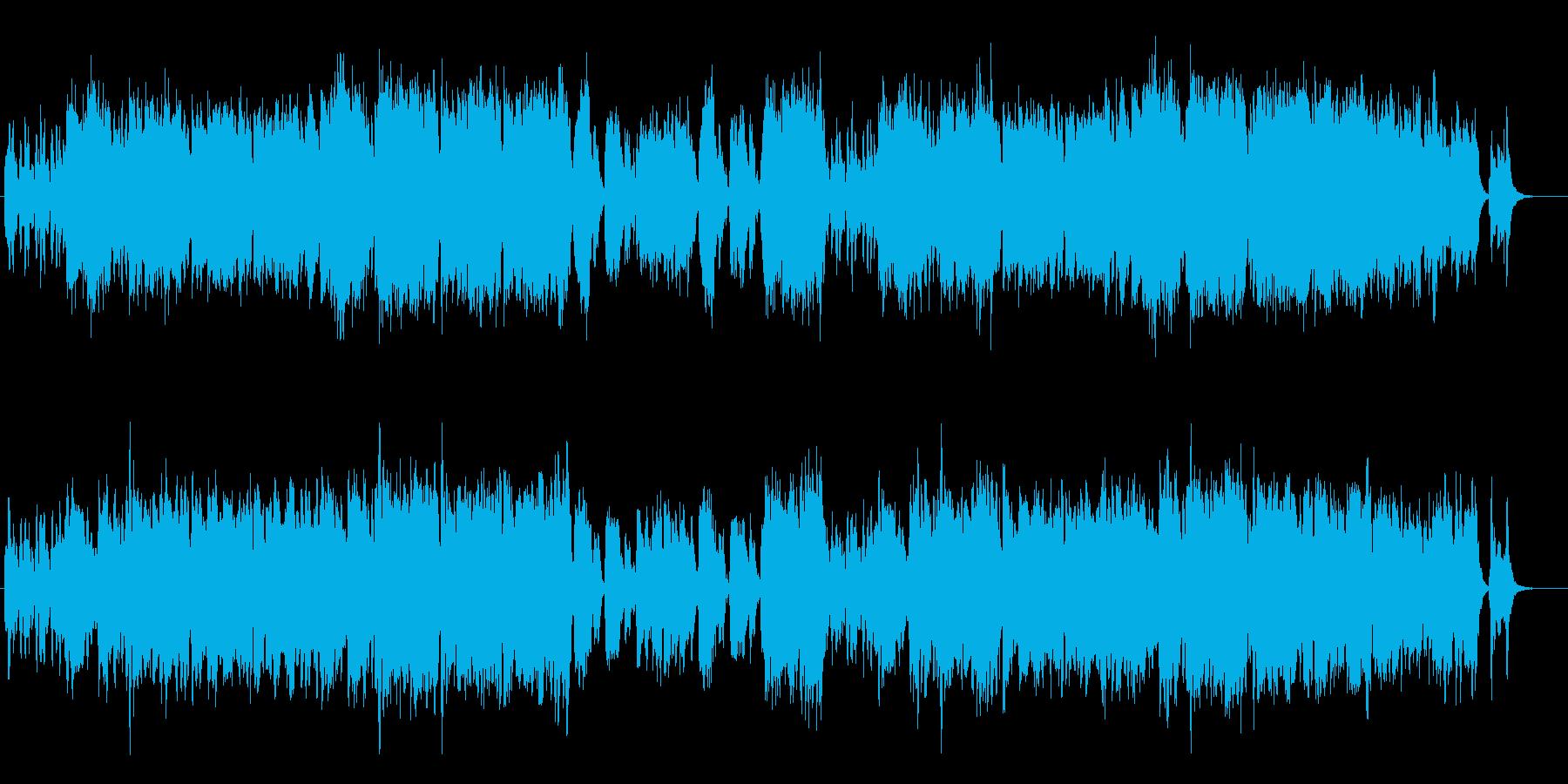 ほのぼのした雰囲気のRPGの再生済みの波形
