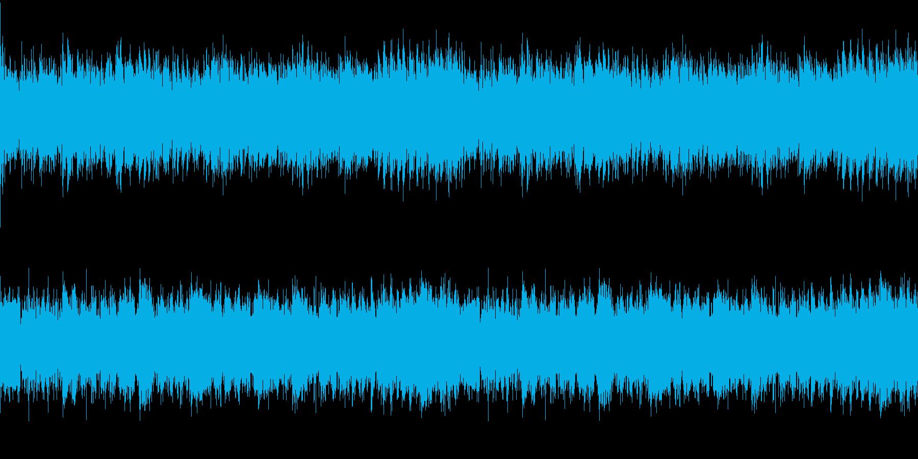 戦闘 緊迫 カッコイイ ループ用の再生済みの波形