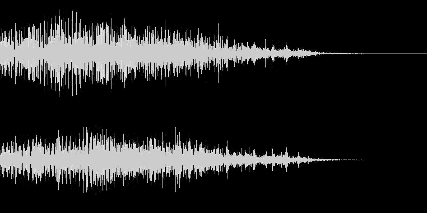 メニュー画面音(ウインドウ,決定等)17の未再生の波形