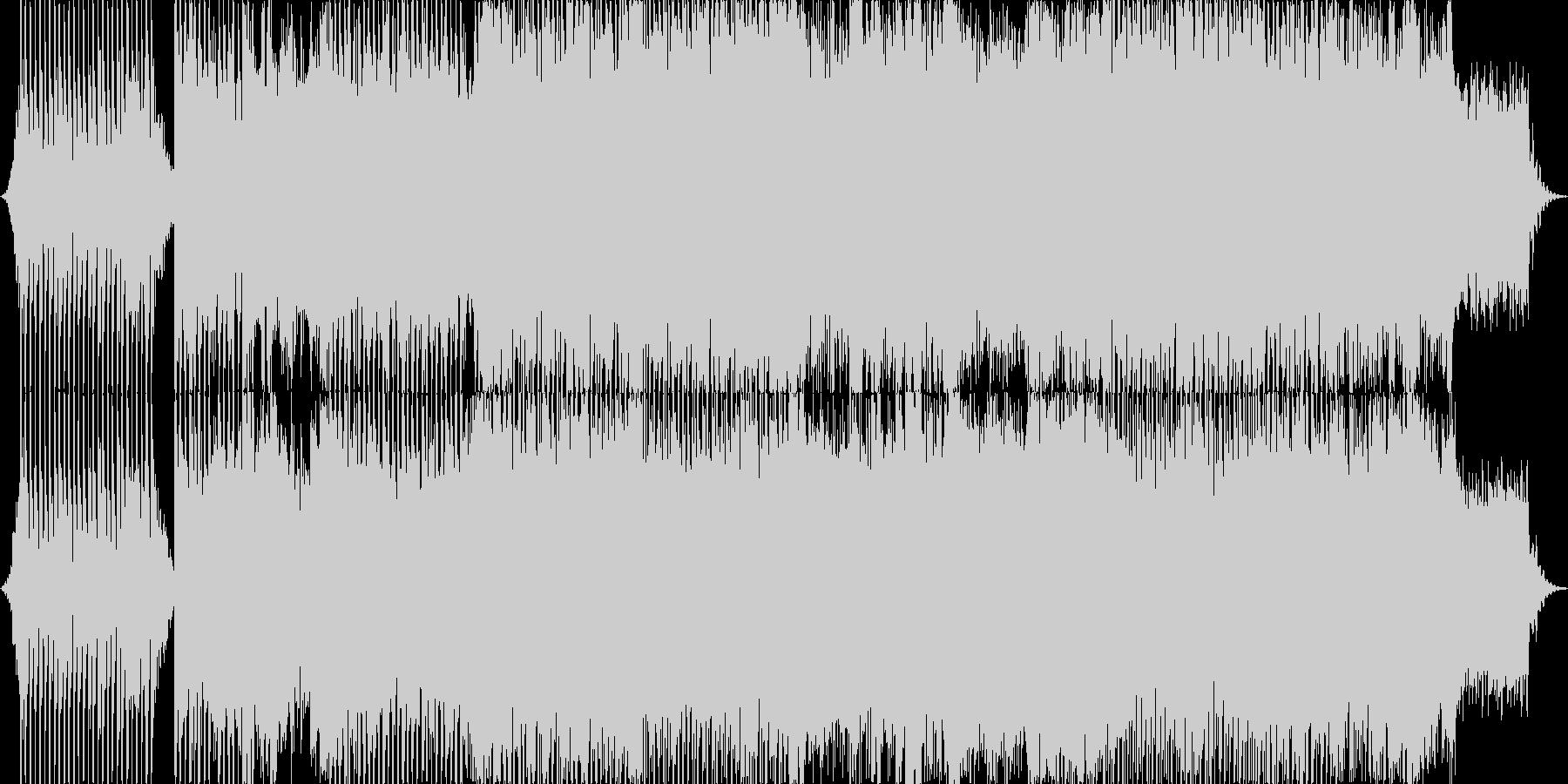 アクションに合うエレクトロストリングスの未再生の波形
