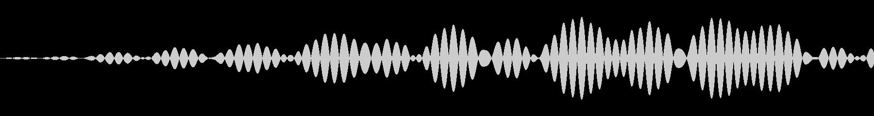 シンプルなキャンセル音2の未再生の波形