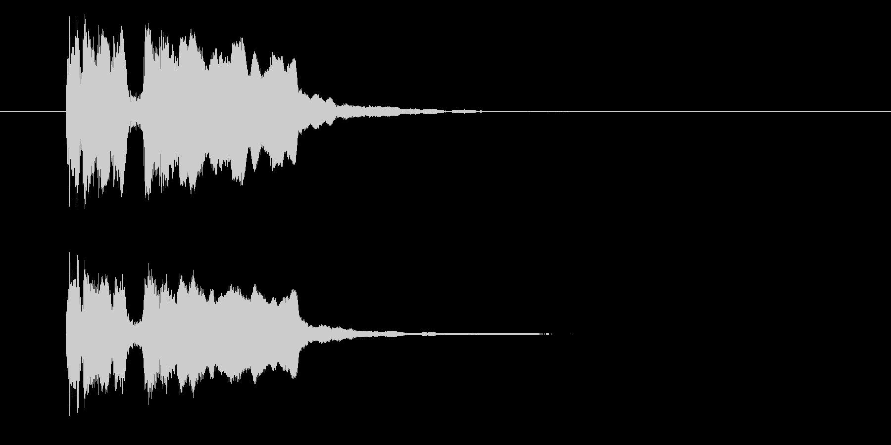 タラララッタラー(登場、発表)の未再生の波形