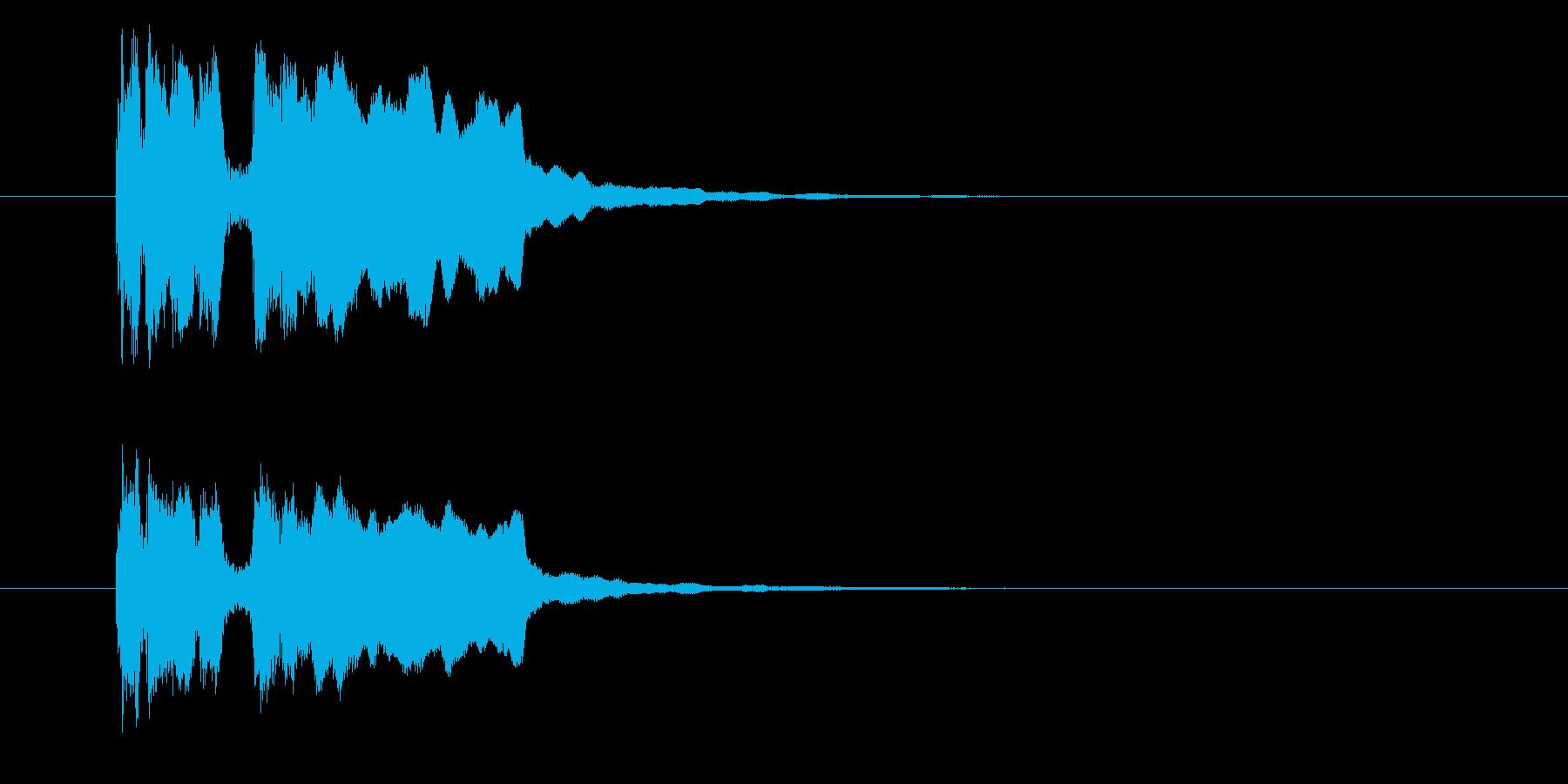 タラララッタラー(登場、発表)の再生済みの波形