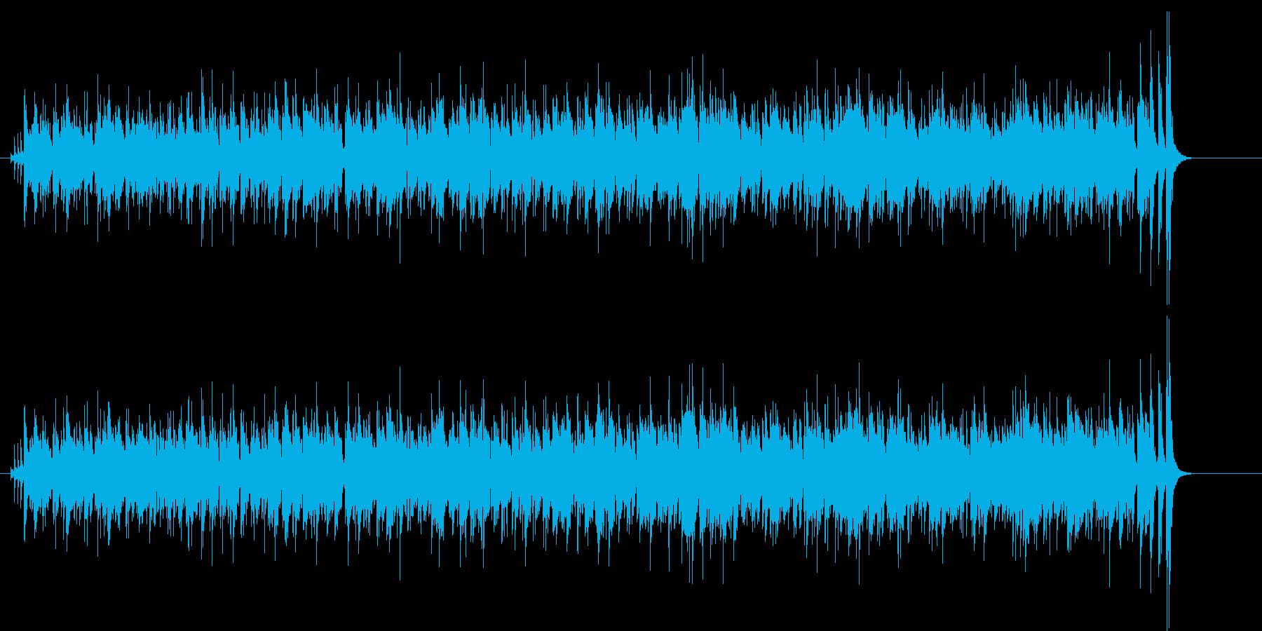 トロピカルなカリプソ調の再生済みの波形
