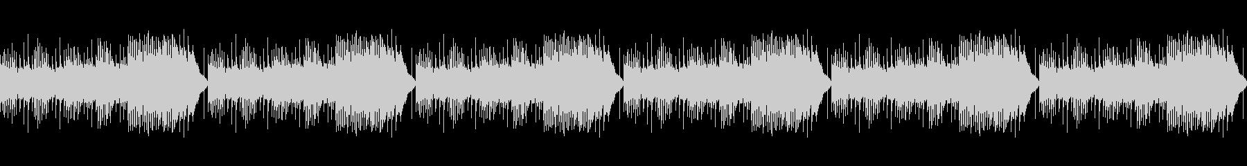 【ループ再生】不思議で可愛いBGMの未再生の波形