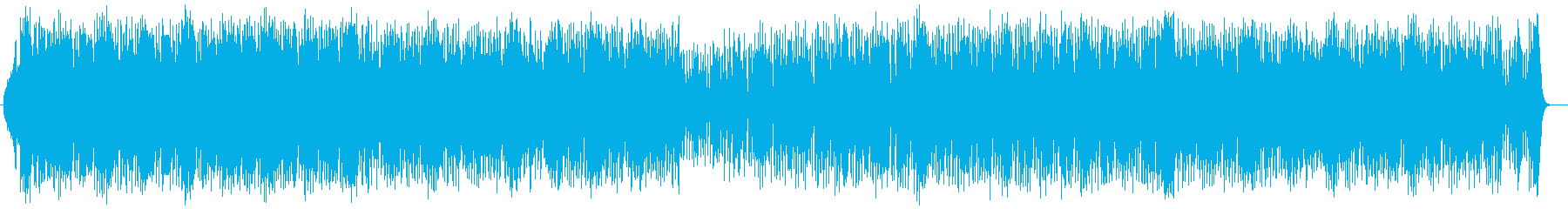 技巧的な楽器が特徴のハードロックの再生済みの波形