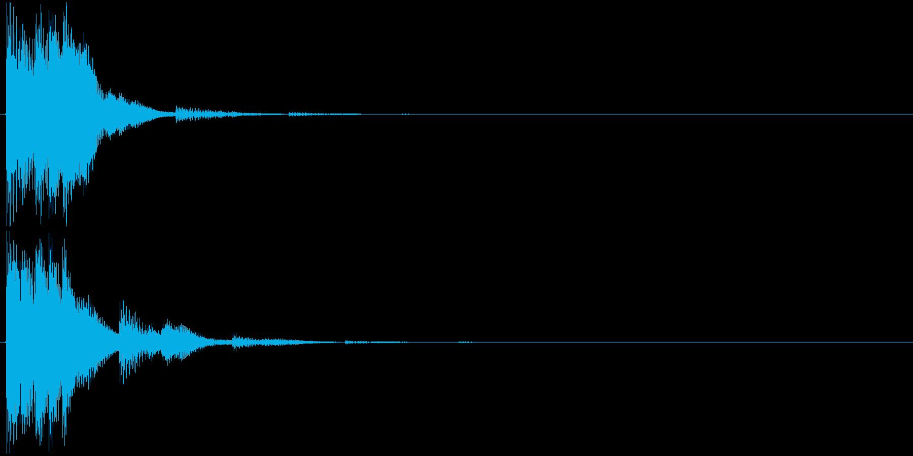 サウンドロゴとして作りましたが、様々な…の再生済みの波形