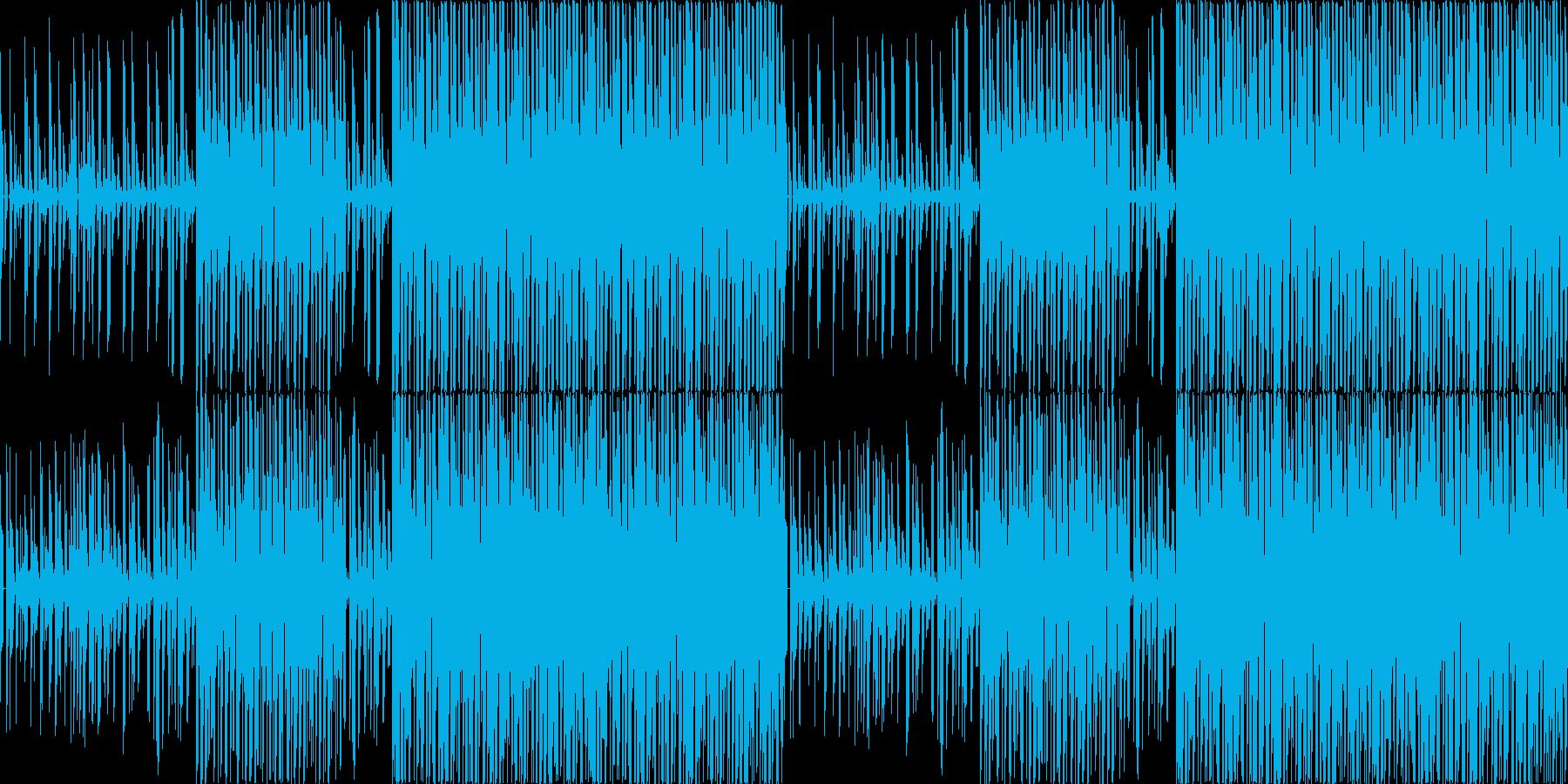 【ニュース/報道番組/近未来/BGM】の再生済みの波形