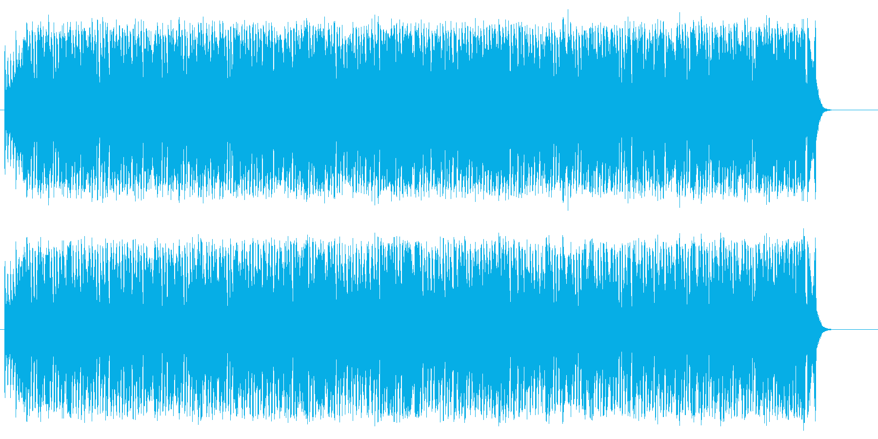 楽しく賑やかなデキシー風ジャズ/ポップの再生済みの波形