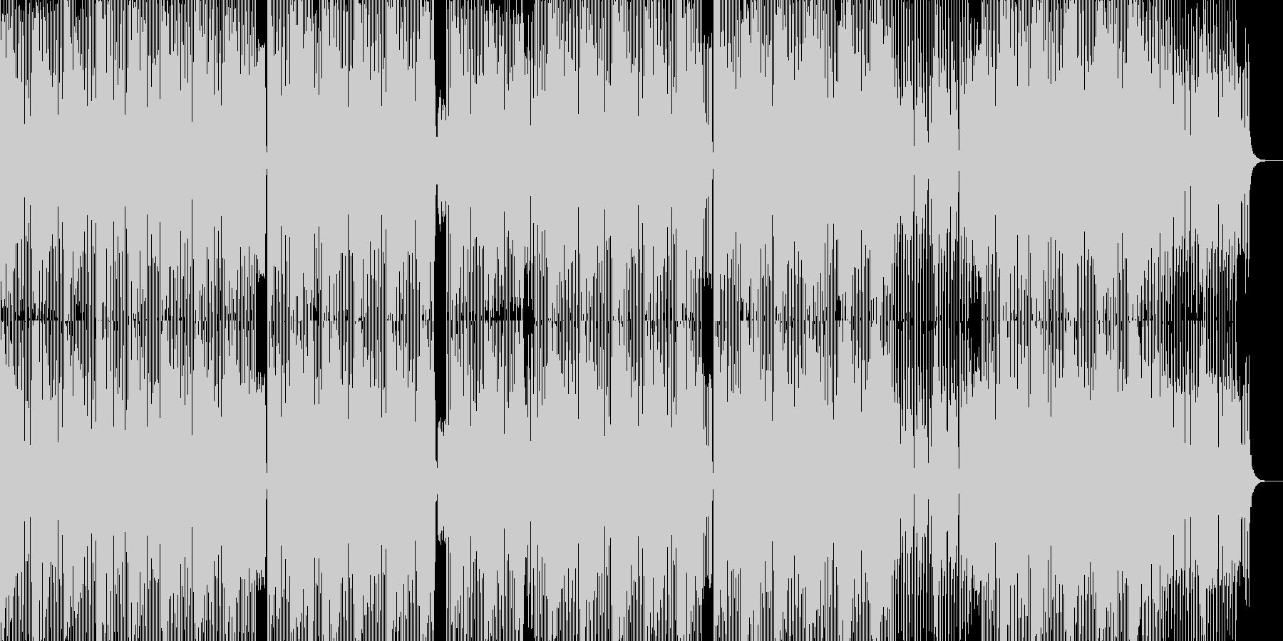 ゲーム/ランウェイ/コミカルなBGMの未再生の波形