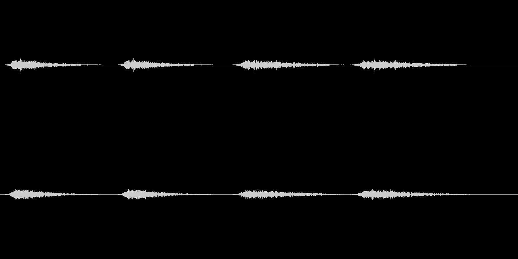 幽霊の声3の未再生の波形