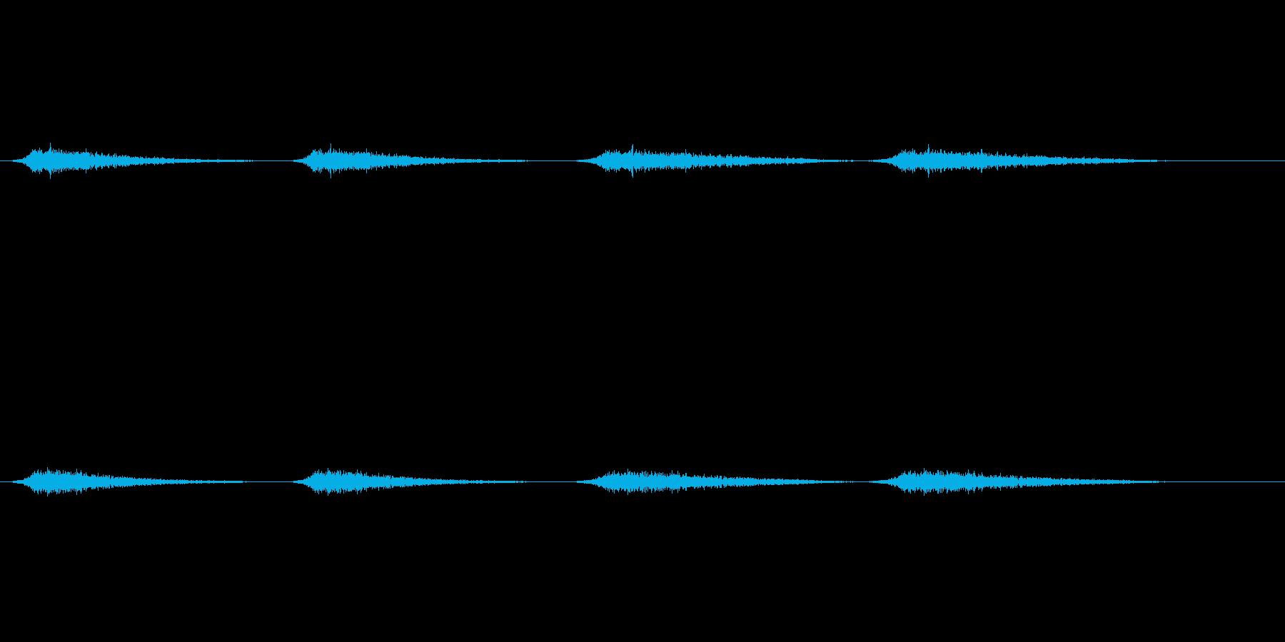 幽霊の声3の再生済みの波形